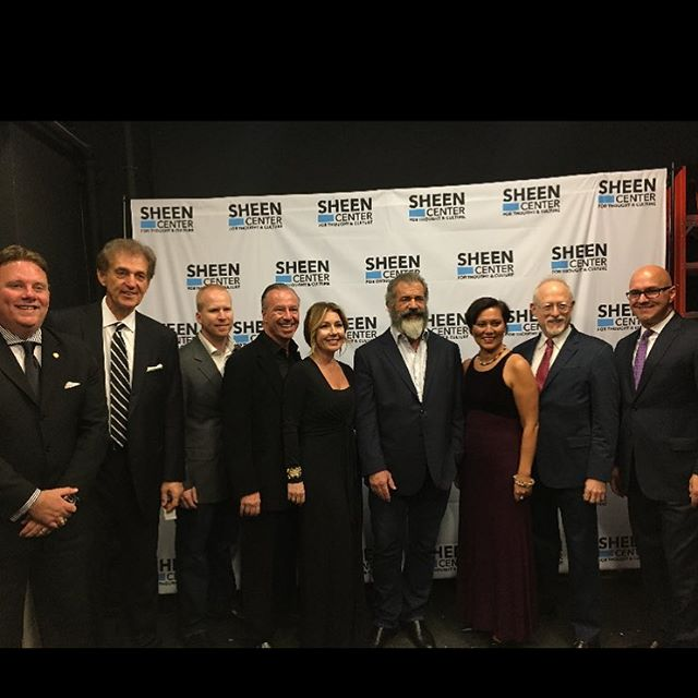 Frank Shelton w/ Mel Gibson - NYC